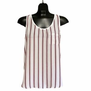 Women's George Stripped Summer Top / Size Small
